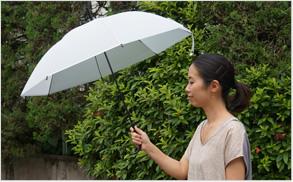 黒骨ビニール傘